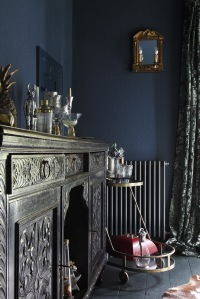 The Blue dining room