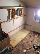 Brigitte caravan refurbishment